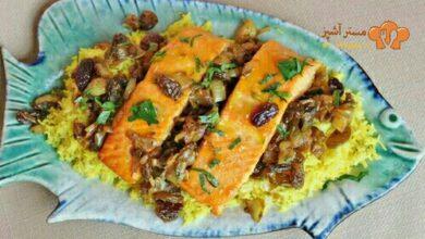 تصویر طرز تهیه شور ماهی بوشهری