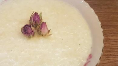 تصویر طرز تهیه شیر برنج