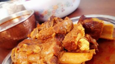 تصویر طرز تهیه باقالی پلو با گوشت