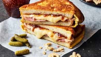 تصویر طرز تهیه ساندویچ مونت کریستو