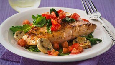 تصویر طرز تهیه ماهی تیلاپیا