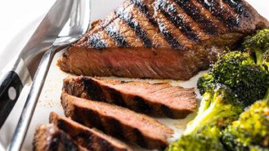 تصویر طرز تهیه استیک گوشت گوساله