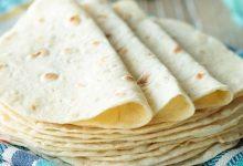 تصویر طرز تهیه نان تورتیلا