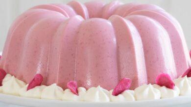 تصویر طرز تهیه ژله بستنی