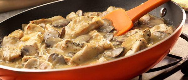 طرز تهیه خوراک قارچ