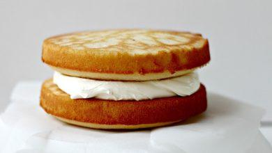 تصویر طرز تهیه کیک شیر عسلی