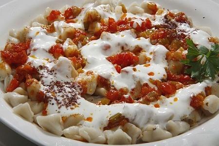 طرز تهیه مانتی خوشمزه و خانگی ترکیه ای