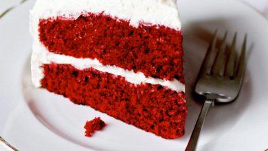تصویر طرز تهیه کیک ردولوت