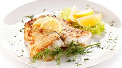 تصویر طرز تهیه فیله ماهی با سس پستو