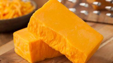 تصویر طرز تهیه پنیر چدار