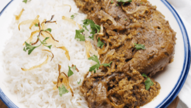 تصویر طرز تهیه خورش مرغ افغانستانی