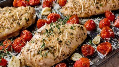 تصویر طرز تهیه مرغ ایتالیایی