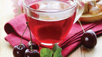 تصویر طرز تهیه چای آلبالو