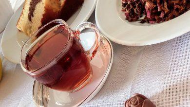 تصویر طرز تهیه چای بهشتی