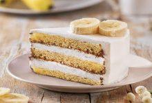 تصویر طرز تهیه چیز کیک موزی