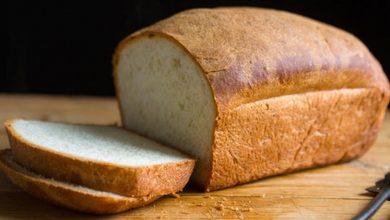 تصویر طرز تهیه نان سفید خانگی