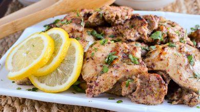 تصویر طرز تهیه مرغ لبنانی