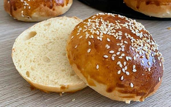 طرز تهیه خمیر و نان همبرگر