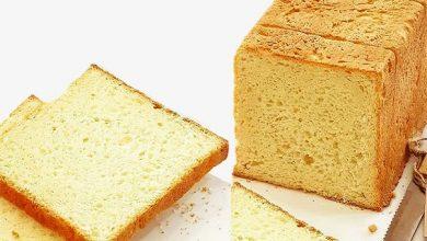 تصویر طرز تهیه نان تست خانگی