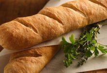 تصویر طرز تهیه نان باگت فرانسویی