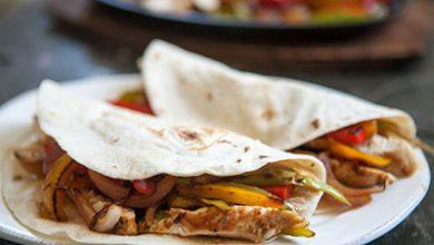 تصویر طرز تهیه فاهیتا یک غذای مکزیکی