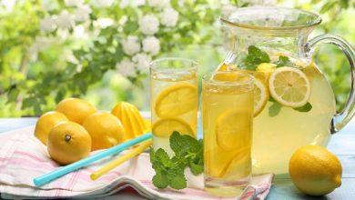 تصویر طرز تهیه شربت لیموناد و پرتقال