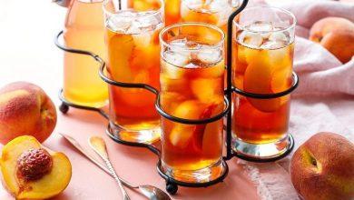تصویر طرز تهیه چای هلو