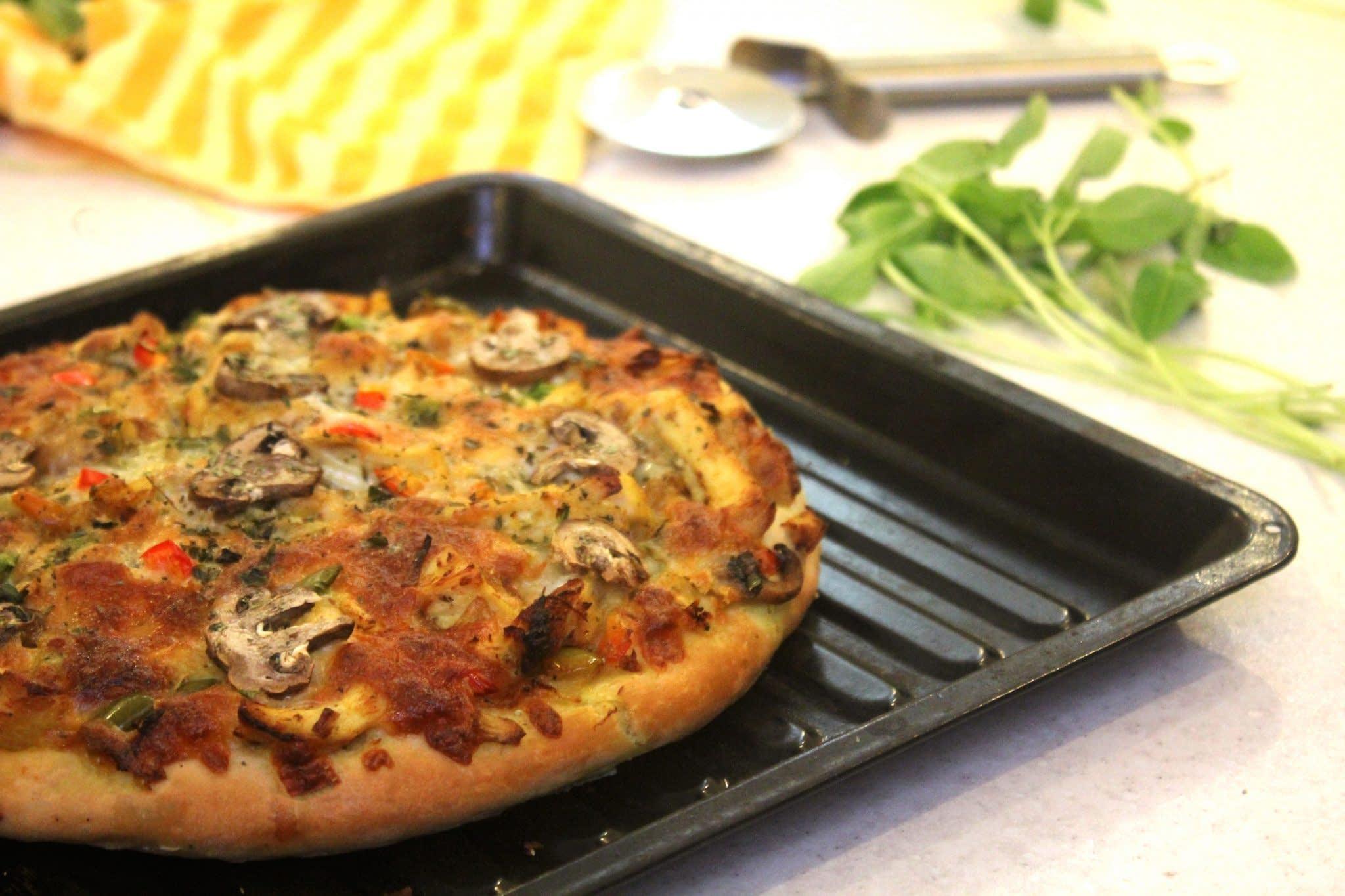 طرز تهیه پیتزا خانگی در توستر