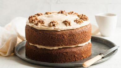 تصویر طرز تهیه کیک قهوه و نسکافه
